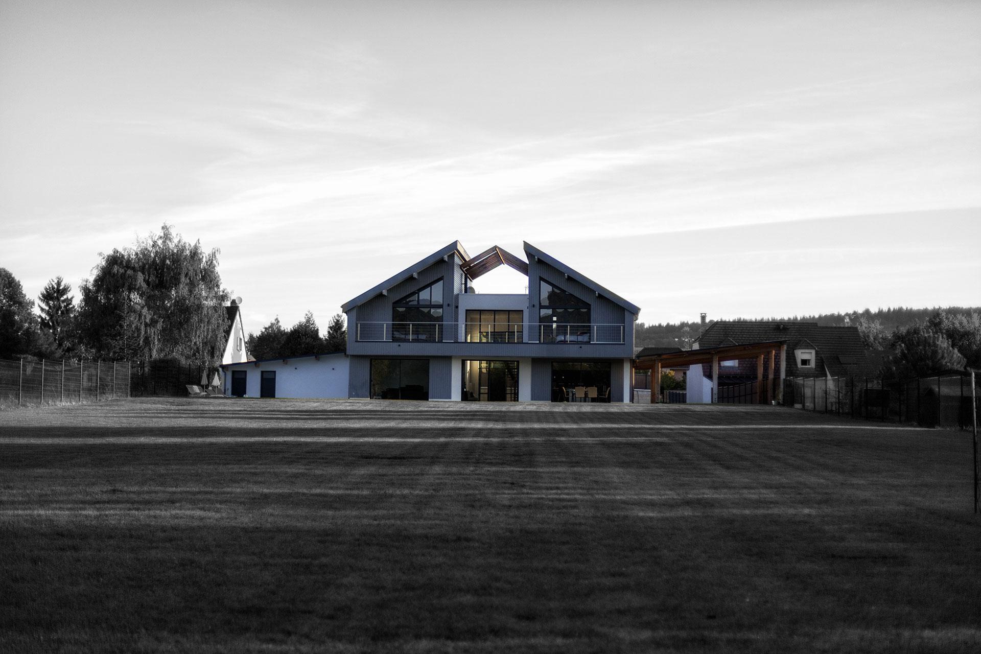 Construction d une maison d habitation for Plan complet d une maison d habitation
